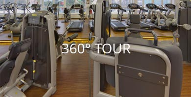 360° Panorama fit&sun Trainingsbereich